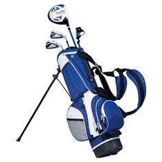 Powerbilt Golf Junior Blue Series Golf Club Set - Right Hand