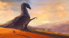 A Friend (Dragon) by Von Caberte High Fantasy, Fantasy World, Fantasy Kunst, Fantasy Art, Cool Dragons, Dragon Artwork, Dragon Pictures, Dragon Rider, Magical Creatures