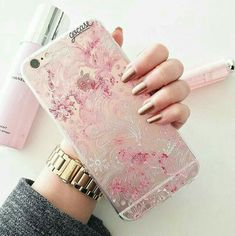 Image uploaded by رمزيات بنات. Find images and videos about pink, nails and iphone on We Heart It - the app to get lost in what you love. Cute Cases, Cute Phone Cases, Iphone 7 Plus Cases, Iphone Phone, Coque Iphone, Accessoires Iphone, White Iphone, Tablets, Iphone Accessories