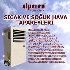 Kullanıcı dostuAlp sıcak ve soğuk hava apareyleri 4000 - 80.000 kcal/h kapasite aralığında farklı modellerde imal edilirler.  Proje gereksinimine göre mahal dönüşlü veya taze hava karışım hücreli tipte uygulama yapılabilmektedir. Isıtma ve soğutma bataryası bakır boru ve alüminyum kanatlardan imal edilmiştir. Standart olarak 90-70  0C  / 80-60 0C sıcak su ve 7 / 12 0C soğuk su ile çalışmada yüksek üfleme sıcaklığı elde edilmektedir.