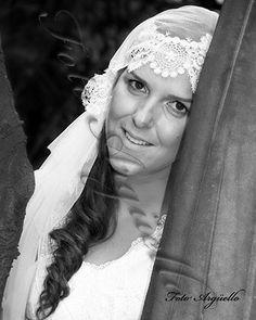 #Retrato de Vanessa en su #boda