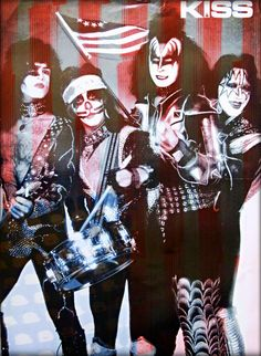 Have a happy &&& Safe of July…. My Music, The Man, 4th Of July, Kiss, Bands, Rock, Happy, Anime, Fictional Characters