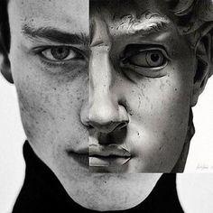 Ideas Pop Art Photography Photoshop Black And White For 2019 Photomontage, Art Du Collage, Face Collage, Collage Sculpture, Photo Sculpture, Collage Ideas, Digital Collage, Montage Photo, Portraits