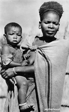 "Africa | ""Motherhood"".  South Africa 