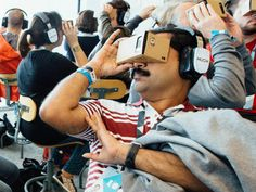 Imagine Google's VR gadget without the cardboard. Google does