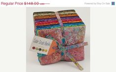 SALE 20% OFF COLOR Crush Batiks by Moda Fabric by FabricSweets