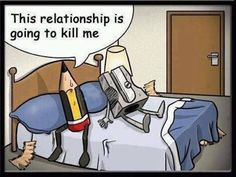 This relationship is going to kill me! Addicted to HumorAddicted to Humor Funny Cartoons, Funny Jokes, Cartoon Humor, Cartoon Quotes, Jokes Quotes, Funny Texts, Qoutes, Quotes Gif, Art Jokes