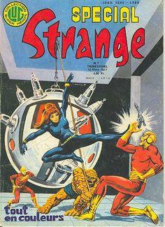 Couverture de Spécial Strange -7- Spécial Strange 1977