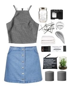 """Untitled #141"" by aimeejames ❤ liked on Polyvore featuring Topshop, Jagger, Mark's Tokyo Edge, Selfridges, Urbanears and NARS Cosmetics"