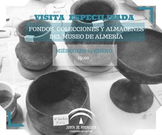 Visita #AFondo. El próximo miércoles, 25 de enero, tenemos programada una visita especializada gratuita, exporaremos nuestros almacenes y sus colecciónes (esta actividad requiere reserva telefónica previa).