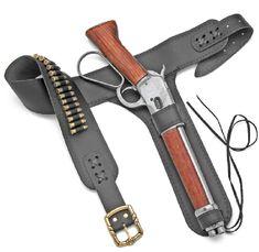 custom Leather Holsters | Custom leather holster for the Mares Leg Cut-down lever action carbine ...