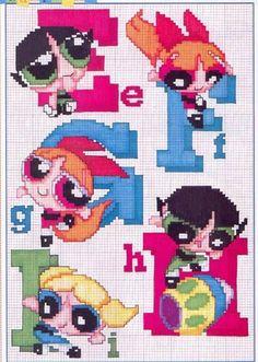 alfabeto le superchicche (The Powerpuff Girls) (2)