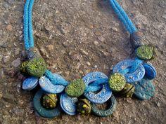 #necklace #polymerclay #handmade