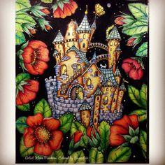 Welcome to my Castle! from Klára  Marková's beautiful Čarovné lahodnisti  #carovnelahodnosti #klaramarkova  #artecomoterapia #divasdasartes #colorindolivrostop #coloring #coloringforadults #coloring_secrets #coloringmasterpiece #coloriageantistress #coloringforadults #colortherapyapp #colortherapy #bayan_boyan #colouringbook #adultcoloringbook #beautifulcoloring #jardimsecreto #creativelycoloring #prismacolor  #desenhoscolorir #majesticcoloring #mycreativeescape #livrosdecolorir