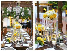 Vintage Yellow and Grey Wedding at Franciscan Gardens with Elevated Pulse