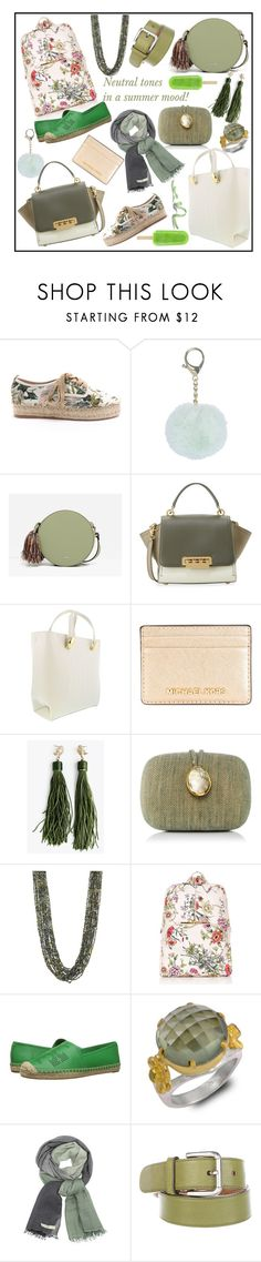 """ICE CREAM, PLEASE!!!"" by kskafida ❤ liked on Polyvore featuring J/Slides, CHARLES & KEITH, ZAC Zac Posen, Roberto Cavalli, MICHAEL Michael Kors, Kayu, Natasha, Oasis, Tory Burch and Emma Chapman"