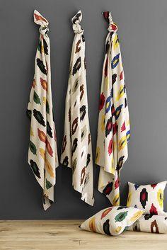 Hopi fabric by Lorca distributed by Osborne & Little www.osborneandlittle.com