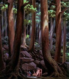 Tagged with wallpaper, art, anime, studio ghibli; Shared by kovoor. The Studio Ghibli Wallpaper Collection. Totoro, Art Studio Ghibli, Studio Ghibli Movies, Studio Ghibli Background, Animation Background, Hayao Miyazaki, Animation News, Animation Studios, Anime Princess