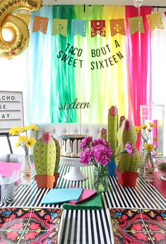 Taco Bout a Sweet 16 Party | Less Than Perfect Life of Bliss | home, diy, travel, parties, family, faith,