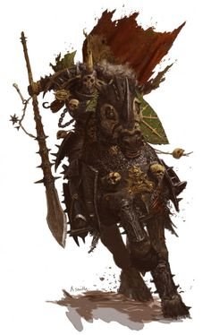 nurgle knight- forgeworld GW by adrian-smith