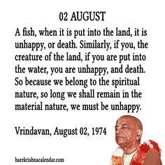 Srila Prabhupada Quotes For Month August 02 Religious Quotes, Spiritual Quotes, Radha Radha, Sunday Special, Srila Prabhupada, Krishna Quotes, Relaxing Yoga, Krishna Love, Krishna Images