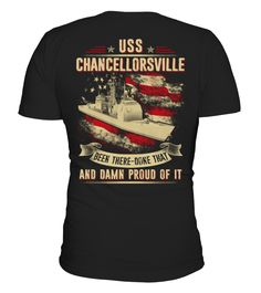 USS Chancellorsville  T-shirt  #september #august #shirt #gift #ideas #photo #image #gift