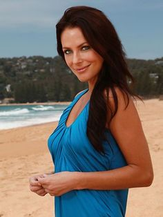 Esther Anderson as Charlie Buckton 2013 (Died got shot) Simply Beautiful, Beautiful People, Home And Away Cast, Everybody Love Raymond, Stars Then And Now, Hot Actors, Brunette Beauty, True Beauty, Girl Crushes