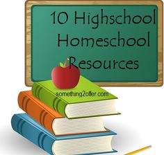I'm sure one day it will be useful. homeschool high school resources