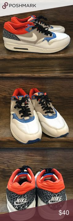 Men Nike Air Max 1 Football Friendly Atmos Shoes Men's size 13 good condition Nike Shoes Athletic Shoes