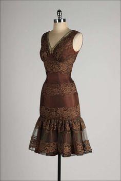 1950's Lace Cocktail Dress