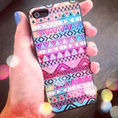 Iphone 5 hoesje Aztec | Iphone 5 hoesjes | Oh So HIP