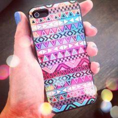 Iphone 5 hoesje Aztec | Iphone 5 hoesjes | Oh So HIP