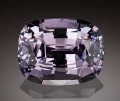 Gems:Faceted, VERY FINE GEMSTONE: NATURAL PURPLE SPINEL - 31.5 CT. with GIA CERT.Burma. ...