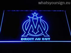 Olympique de Marseille - Neon sign LED display made of the best-quality clear acrylic and glowing colorful illumination. The neon sign displays exactly the same from all angles thanks to the carving with the newest 3D laser engraving process. This LED neon sign is a great gift idea! The neon is provided with a metal chain for displaying. Available in 3 sizes in following colours: Orange, Purple, Red, Yellow, Blue, Green and White!