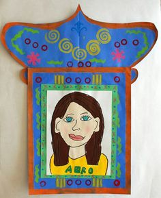 Self portrait in Frida Kahlo's style