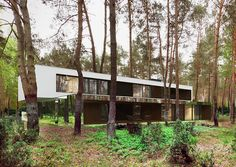 mirrored home in Poland