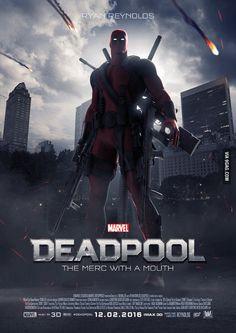 #Deadpool #Fan #Pic. (Deadpool Poster) (THE * 5 * STÅR * ÅWARD * OF: * AW YEAH, IT'S MAJOR ÅWESOMENESS!!!™) [THANK U 4 PINNING!!!<·><]<©>ÅÅÅ+(OB4E)
