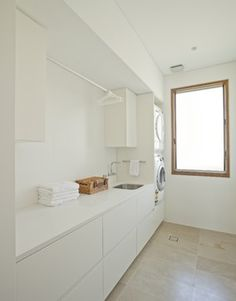 Middle Harbour House - Contemporary - Laundry Room - Sydney - Richard Cole Architecture