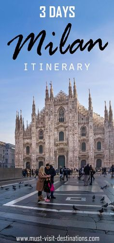Planning a trip of 3 days in Milan? Then you are heading towards the most awesome trip of your life. Here are some things to do in Milan in 3 Days.