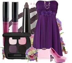 """""""A Night with Bare Minerals"""" by lmm2nd ❤ liked on Polyvore"""