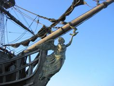 pirate ship figureheads | Pirate Ship Figurehead Black pearl figure head