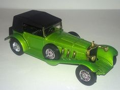 Lesney Matchbox Models of Yesteryear Y-16 1928 Mercedes Benz SS Coupe