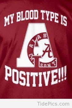 A Positive! - Alabama Crimson Tide Pictures | TidePics.com