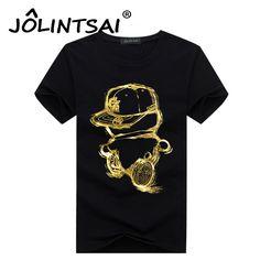Cotton t shirt Men 5XL 2017 Summer Gold Boy t-shirts Male Casual tshirt Fashion Mens Short Sleeve t shirt Slim Fit Top Tee