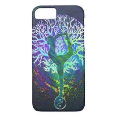 Rainbow Energy Yin Yang Yoga iPhone 8/7 Case