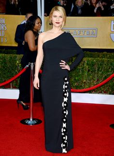 SAG Awards 2013: Red Carpet Dresses: Claire Danes