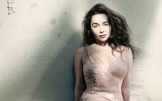 Emilia Clarke Beautiful White Dress - HD Wallpapers - Free Wallpapers - Desktop Backgrounds