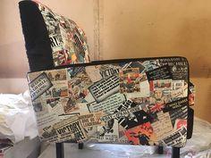 UnionJack Armchair / British theme chair / vintage armchair /
