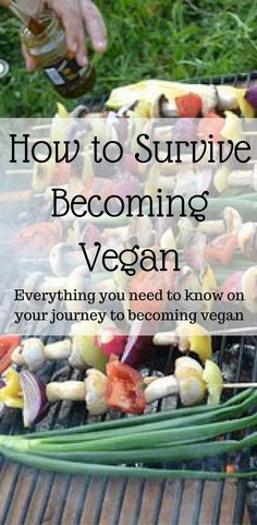 How to survive your transition to a vegan diet and lifestyle and how to handle family and friends