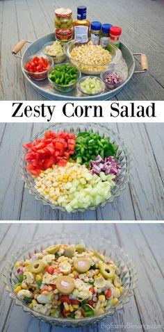 Zesty Corn Salad per